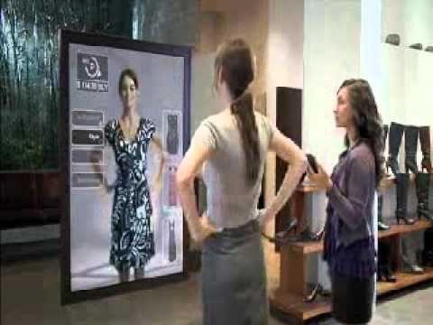 Future department stores (Digital Mirror), The digital mirror, future or present?