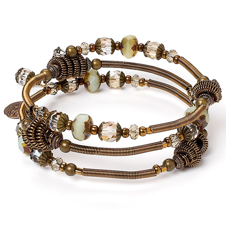 Wire coil bracelet (Tutorial to Buy)