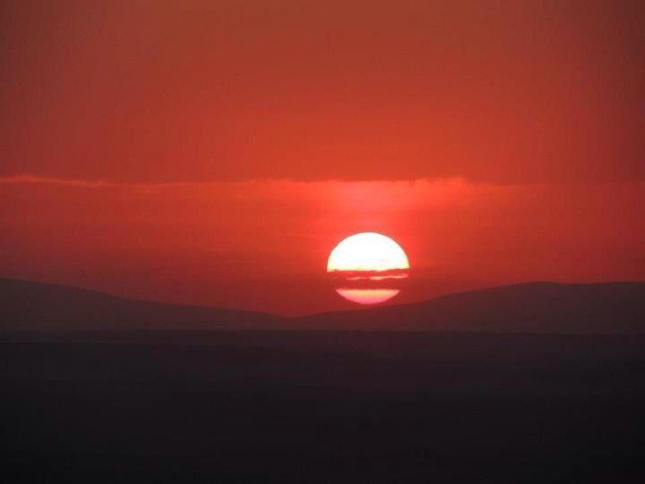 Ngorongoro crater sunset