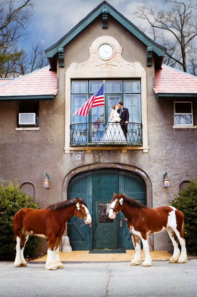 I love the USET headquarters! I also love those lovely Clydesdales in the photo!