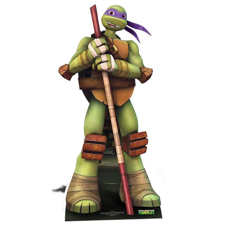 "Figurine gÉante carton donatello ""© tortue ninja"" 164 cm"