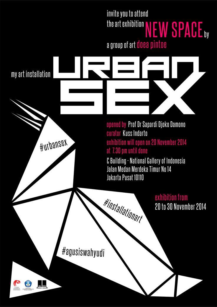 #nasionalgalleryofindonesia #urbansex #installationart