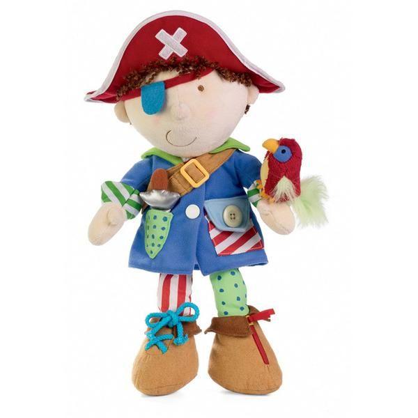 Dress Up Pirate - Dressing Skills Doll