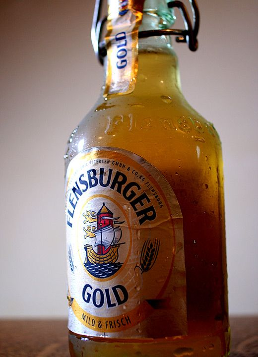 FLENSBURGER .... Mmm - drooling just at the sight of it!