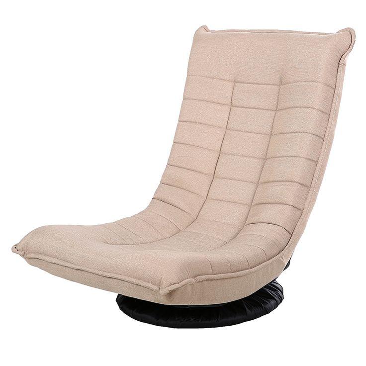 360 Grad Swivel Video Wippe Gaming Stuhl Einstellbaren Winkel Stuhl  Gefaltet Boden Stuhl Wohnzimmer Möbel Ergonomischen