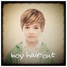 Cute boys' haircut                                                                                                                                                                                 More