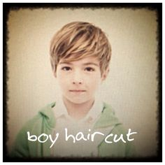 Cute boys' haircut