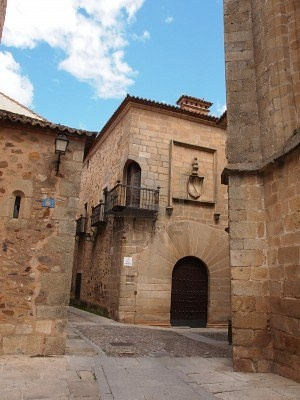 Caceres, Spain.  http://www.worldheritagesite.org/sites/caceres.html