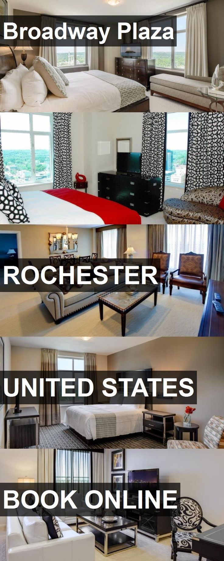 Hotel Broadway Plaza in Rochester, United States. For more information, photos, reviews and best prices please follow the link. #UnitedStates #Rochester #travel #vacation #hotel