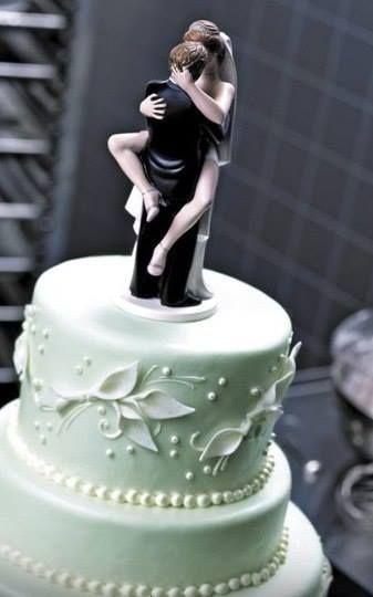 Cool Wedding Cake Topper