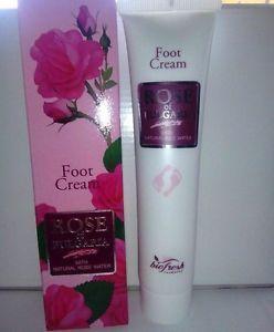FOOT CREAM, ROSE OF BULGARIA, NATURAL ROSE WATER, PARABEN FREE, 75ML, 1PCS | eBay
