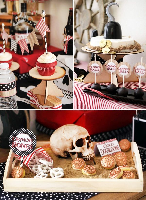578 best pirate party images on Pinterest | Birthdays, Party and ...