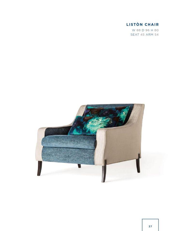 Rubelli Casa - Liston chair