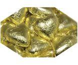 A bulk 1kg bag of Dolci Doro Gold Chocolate Hearts.