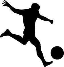 boys sports silhouette soccor - Google Search
