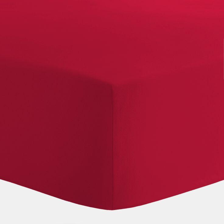 Solid Red Crib Sheet #carouseldesigns