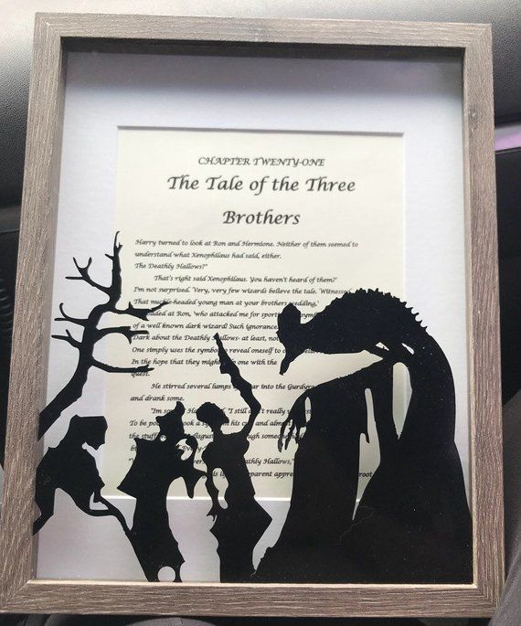 The Tale Of Three Brothers Harry Potter Etsy Harry Potter Nursery Harry Potter Decor Harry Potter Etsy