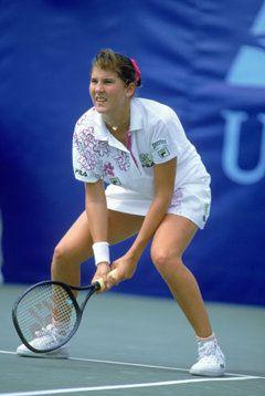 Monica Seles - USA - winner 1991, 1992, 1993, 1996
