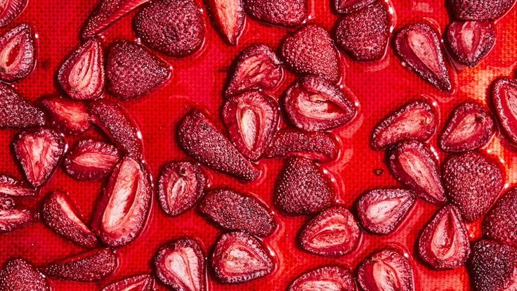 Oven-Dried Strawberries Recipe | Bon Appetit