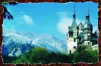 Transylvania for Halloween!  Peles castle in Transylvania, courtesy of Romanian Tourism Ministry