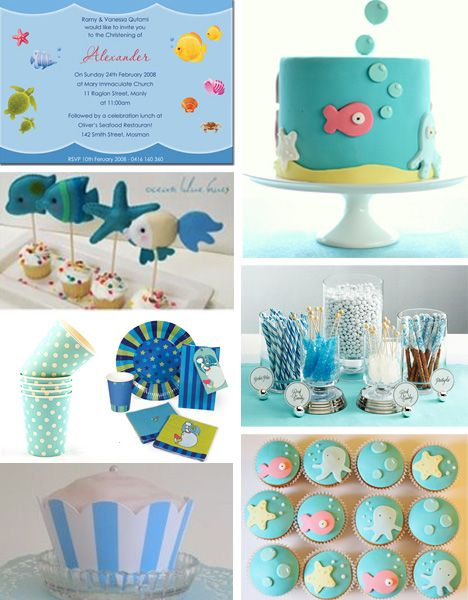Love the cake and cupcakes here - like the idea of candy bowls too