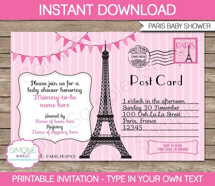 """Бесплатный Париж Приглашений - Приглашения Шаблоны ДизайнаРезультаты поиска для """"свободного Парижа Приглашения на вечеринку"""" – приглашение шаблоны дизайна"""