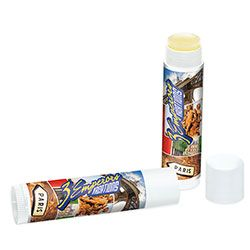 SPF-23 Lip Balm. A great give away item for the ski slopes or the beach!  For details and ordering info contact: ww.Fivetwentyfour.ca
