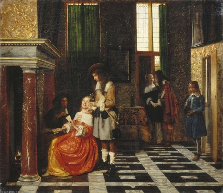Interieur barock  116 besten Pieter de Hooch - Art Bilder auf Pinterest | Barock ...