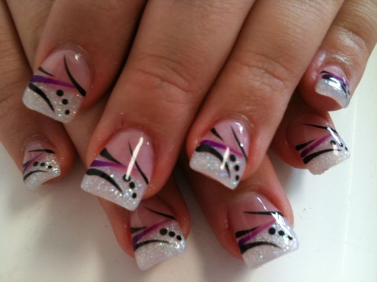 sc nails art designs 590 - CoolNailsArt - Best 25+ French Nail Designs Ideas On Pinterest French Nails