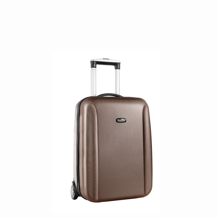 Valise cabine rigide Berlin 2 roues 50cm Violet | Rayon d'or bagages