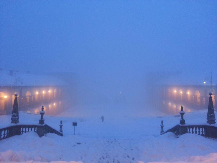 #oropa #neve #snow #nebbia #fog #Biella #Piemonte