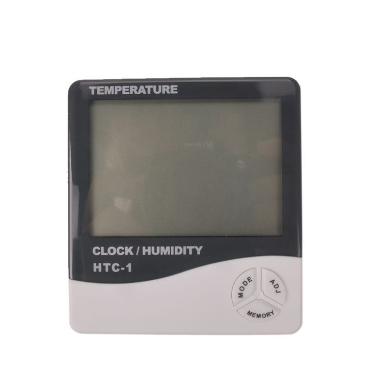 Indoor and outdoor temperature and humidity, LCD digital display temperature and humidity, free shipping