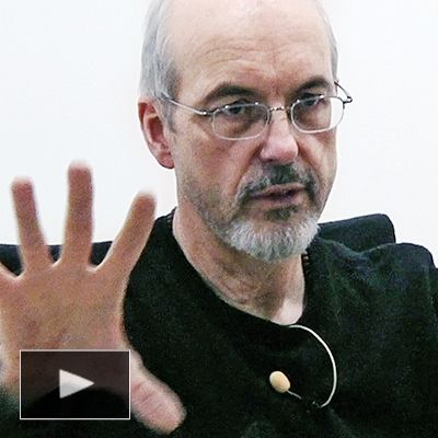 "Bill Viola-Cameras are soul keepers- ""There's more than just the surface of life."" Viola explains. ""The real things are under the surface""."