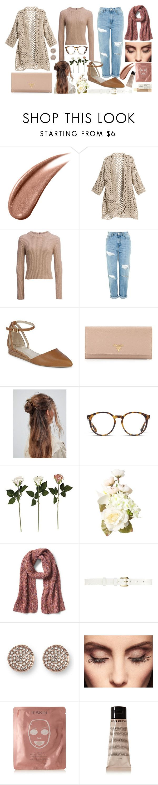 """Natural feels"" by chalotteleah on Polyvore featuring Chico's, Carve Designs, Topshop, Seychelles, Prada, ASOS, STELLA McCARTNEY, Oscar de la Renta, Vince Camuto and Claire Evans"