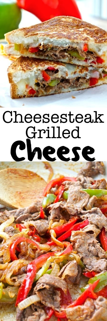 All the flavors you know and love from a classic cheesesteak come together in the form of a grilled cheese! This fun sandwich is my new favorite way to eat a cheesesteak – and it's gluten-free!