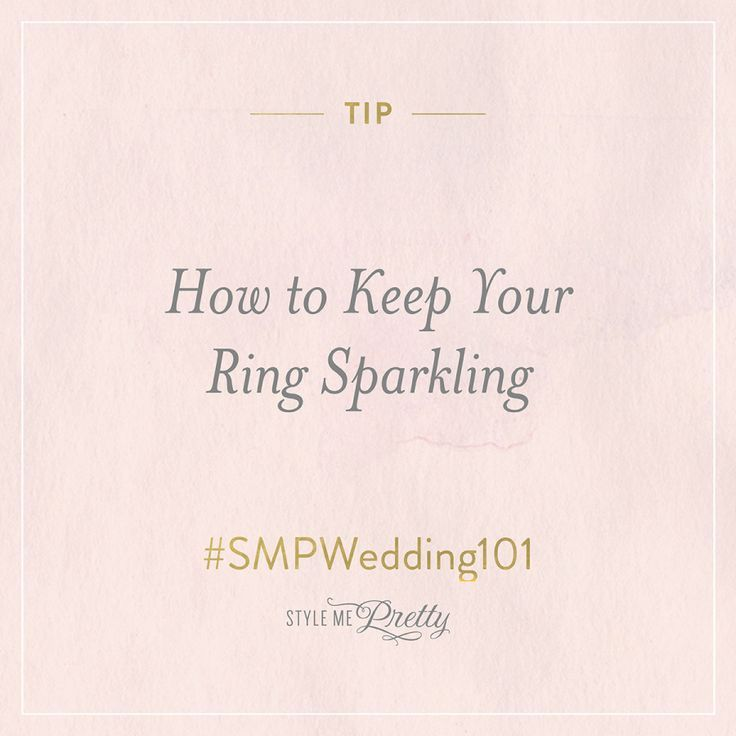 Engagement Rings 2017/ 2018   #SMPWedding101  Wedding Ring Cleaning Tips