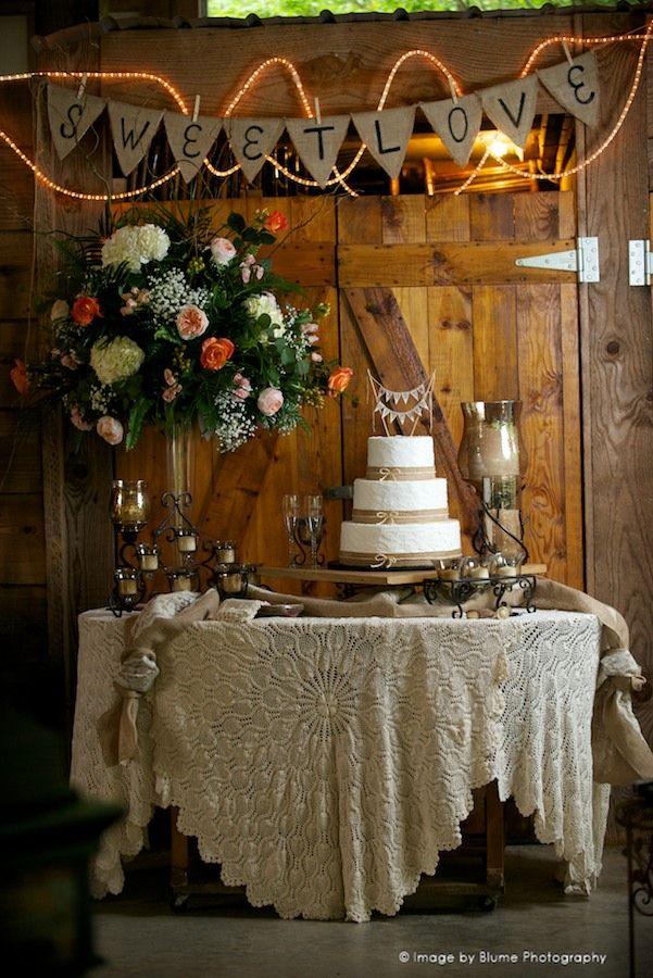 """Sweet Love""   19 Wedding Cake Ideas   Blume Photography"