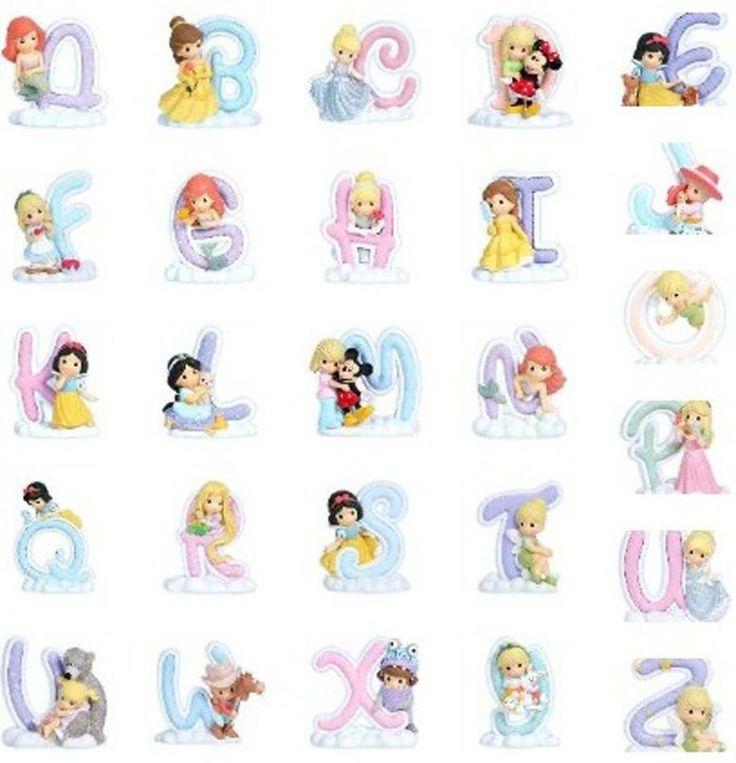 Details about Precious Moments Disney Princess Alphabet Figures LIMITED  LETTER SELECTION LEFT