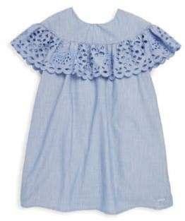 713a91fda Toddler's, Little Girl's& Girl's Embroidered Strawberries Dress  #overlay#details#Short