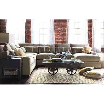 Ventura Upholstery 4 Pc. Sectional VCF  sc 1 st  Pinterest : vcf sectional - Sectionals, Sofas & Couches