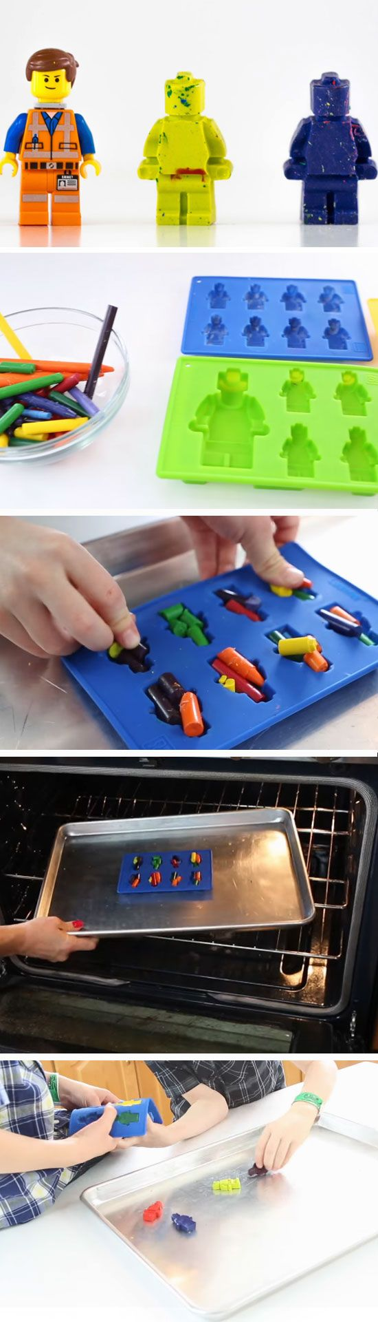 Lego Crayons | Birthday Party Ideas for Boys | DIY Lego Party Ideas for Boys