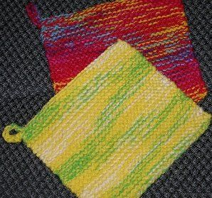 Free Knit Potholder Patterns : 1160 best images about Bath and Kitchen Accessories on Pinterest Free patte...