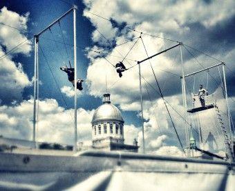 July 7- Cirque Carpe Diem at Parc Jean-Drapeau