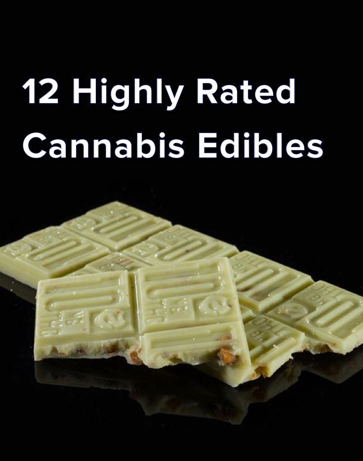 12 Highly Rated Cannabis Edibles                                                                                                                                                                                 More