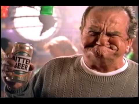 Keystone Light Beer Commercial 1995…  My initial impression of kettlebell cleans, very similar to bitter beer face from the 90's beer commercials!