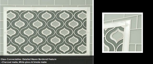 I LOOOOOOVE this tile, but can't find it to buy it.  :-(  Tile Time | Kyle Knight Design