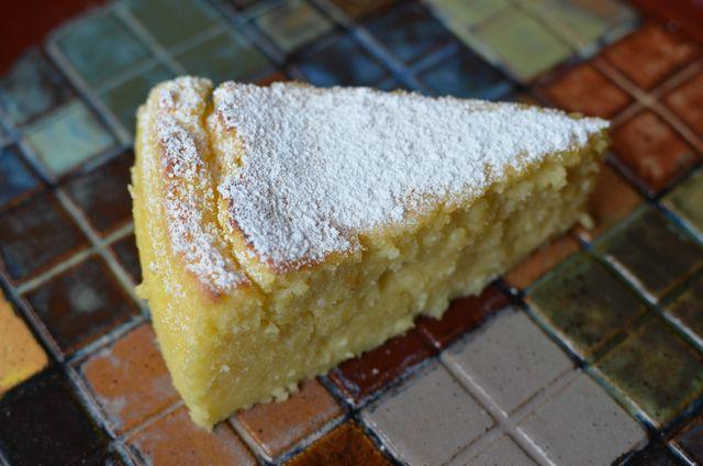 Neapolitan Lemon-Ricotta Cake for Carnevale: Lemon-Ricotta Cake (Migliaccio)