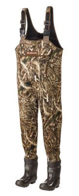 """LaCrosse Super Brush-Tuff Insulated Boot-Foot Waders for Men - Realtree Max-5 - Medium - 8: """"""""""""Tough,… #Outdoors #OutdoorsSupplies"""