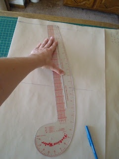 How to draft an A-line skirt from Measurements