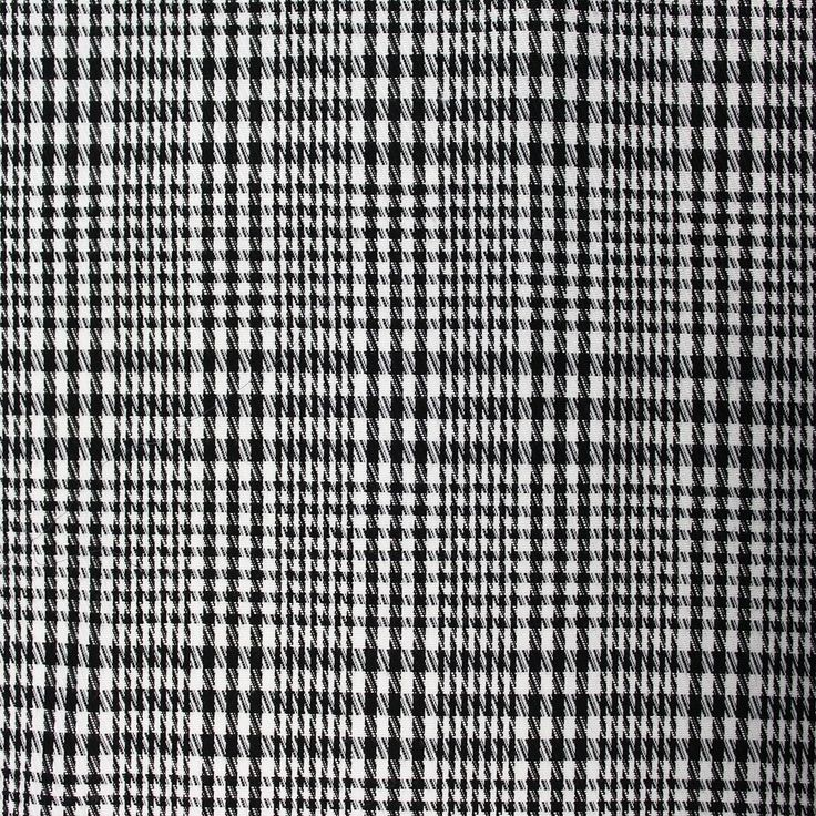 Woven check d black white woven checks prints specials